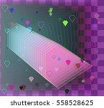 jewels texture art   Shutterstock .eps vector #558528625