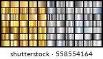 gold silver gradient background ... | Shutterstock .eps vector #558554164