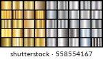 gold silver gradient background ... | Shutterstock .eps vector #558554167