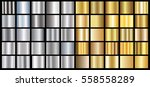 silver gold gradient background ... | Shutterstock .eps vector #558558289