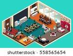 a vector illustration of... | Shutterstock .eps vector #558565654