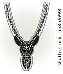 collar design | Shutterstock .eps vector #55856998
