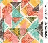 Tangram Seamless Pattern....