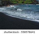 Sparkling Volcanic Black Sand...