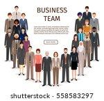 international business men and...   Shutterstock .eps vector #558583297