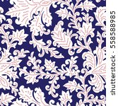 seamless pattern with fantasy... | Shutterstock .eps vector #558588985