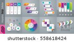 infographic design vector and... | Shutterstock .eps vector #558618424