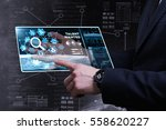 business  technology  internet... | Shutterstock . vector #558620227