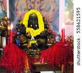 Small photo of Stature of Ganesha in Temple Bangkok, Thailand