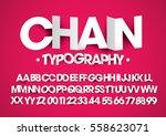 vector of modern stylized paper ... | Shutterstock .eps vector #558623071