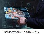 business  technology  internet...   Shutterstock . vector #558630217