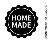 homemade label  badge  burst ...   Shutterstock .eps vector #558632047
