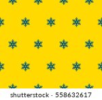 seamless pattern with symmetric ... | Shutterstock .eps vector #558632617