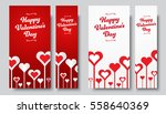 set of vertical web banners... | Shutterstock .eps vector #558640369