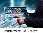 business  technology  internet... | Shutterstock . vector #558640591