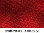 seamless dragon scale pattern | Shutterstock . vector #55864072