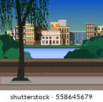 Urban View Background
