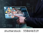 business  technology  internet... | Shutterstock . vector #558646519