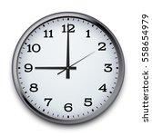 vector clock  eps10 | Shutterstock .eps vector #558654979