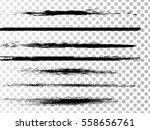 grunge paint stripe . vector... | Shutterstock .eps vector #558656761