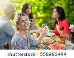 looking at camera  portrait of... | Shutterstock . vector #558683494
