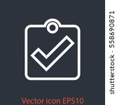checklist icon vector.