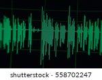 radio sound wave music wave blur   Shutterstock . vector #558702247