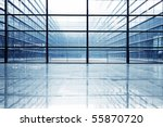 image of windows in morden... | Shutterstock . vector #55870720