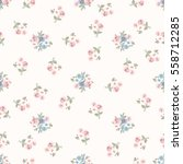 simple cute pattern in small... | Shutterstock .eps vector #558712285