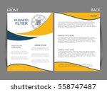 vector business flyer  magazine ...   Shutterstock .eps vector #558747487