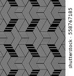 seamless op art pattern.... | Shutterstock .eps vector #558767185