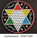 Old Chinese Checkers Board
