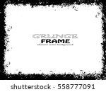 grunge frame. vector...   Shutterstock .eps vector #558777091