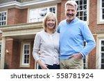 portrait of mature couple...   Shutterstock . vector #558781924