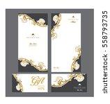 vector thai food restaurant...   Shutterstock .eps vector #558793735
