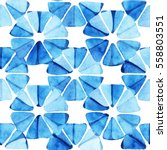 watercolor seamless pattern... | Shutterstock . vector #558803551