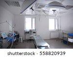 interior of operating room in... | Shutterstock . vector #558820939