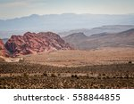 Mountains In The Nevada Desert