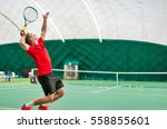 Serve By Professional Tennis...