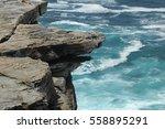ocean and cliffs royal national ... | Shutterstock . vector #558895291