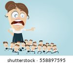 leadership business clipart | Shutterstock .eps vector #558897595