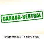 Illustration Of Carbon Neutral...