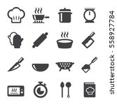 cook icon | Shutterstock .eps vector #558927784
