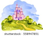 the vector illustration of tale ... | Shutterstock .eps vector #558947851