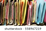 traditional filing cabinets... | Shutterstock . vector #558967219