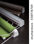 color roller blind and roman... | Shutterstock . vector #558978709