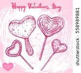 vector hand drawn illustration...   Shutterstock .eps vector #558989881