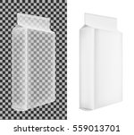 transparent blank plastic or... | Shutterstock .eps vector #559013701