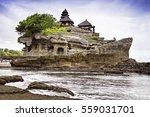 tanah lot temple  bali island