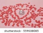 Heart Shape Within Valentine...